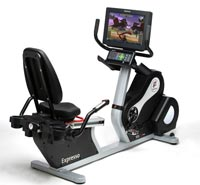 Expresso Workout Bike Provides Exercise Entertainment