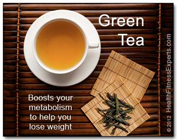 Green Tea Boosts Your Metabolism