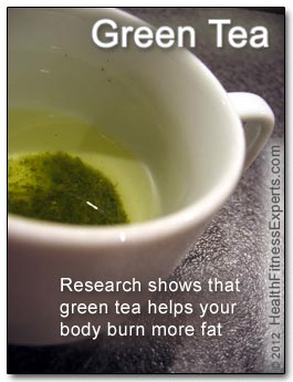 Research Shows That Green Tea Burns Fat