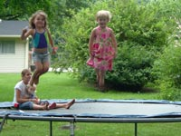 Trampolines for Better Health