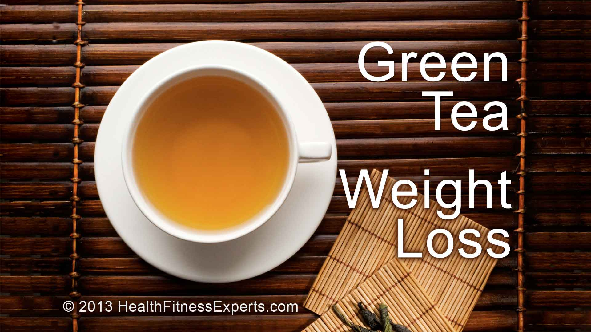 how to use green tea for weight loss | health & fitness experts