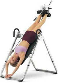 Inversion Table: Back Pains No More