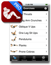 Ab Workout Pro Screen Shot