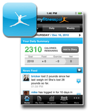 Track your calories and meet your fitness goals with the MyFitnessPal app.