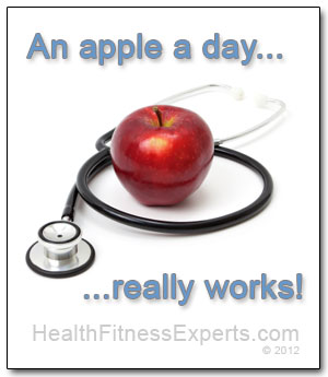 An apple a day really works!