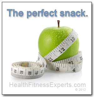 Apples make the perfect snack.