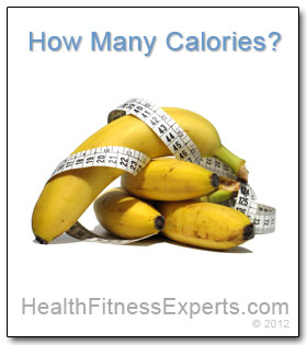 How many calories in a banana?