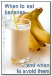 Bananas are great in protein shakes