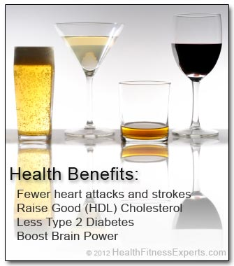 Health Benefits of Red Wine and Alcohol