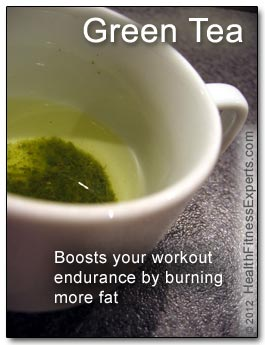 Green Tea Boost Exercise Endurance