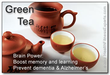 Green Tea May Boost Memory and Prevent Dementia