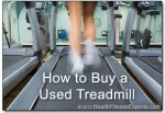 How to Buy a Used Treadmill