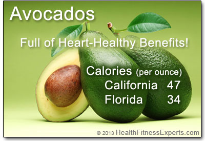 Heart-Healthy Avocado Calories