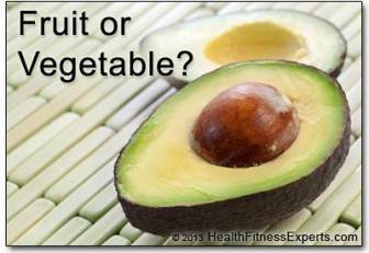 frozen fruit avocado fruit or vegetable